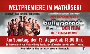 Bullyparade Film Premiere Vanessa backstage